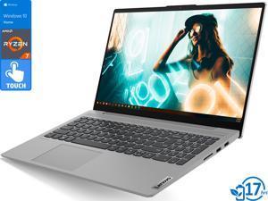 "Lenovo IdeaPad 5 Notebook, 15.6"" IPS FHD Touch Display, AMD Ryzen 7 4700U Upto 4.1GHz, 8GB RAM, 512GB NVMe SSD, Vega 6, HDMI, DisplayPort via USB-C, Wi-Fi, Bluetooth, Windows 10 Home (81YQ0006US)"