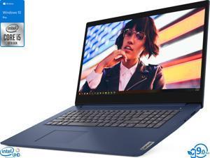 "Lenovo IdeaPad 3 Notebook, 17.3"" HD+ Display, Intel Core i5-1035G1 Upto 3.6GHz, 20GB RAM, 256GB SSD, HDMI, Card Reader, Wi-Fi, Bluetooth, Windows 10 Pro S"