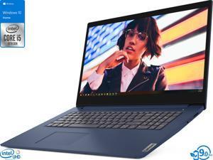 "Lenovo IdeaPad 3 Notebook, 17.3"" HD+ Display, Intel Core i5-1035G1 Upto 3.6GHz, 8GB RAM, 512GB SSD, HDMI, Card Reader, Wi-Fi, Bluetooth, Windows 10 Home S"