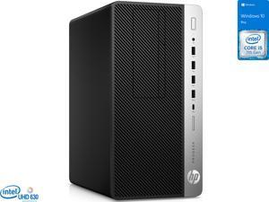 HP ProDesk 600 G3 Desktop, Intel Core i5-7500 Upto 3.8GHz, 8GB RAM, 256GB SSD, DVDRW, DisplayPort, Wi-Fi, Bluetooth, Windows 10 Pro