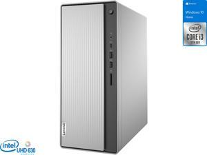 Lenovo IdeaCentre 5i Desktop, Intel Core i3-10100 Upto 4.3GHz, 8GB RAM, 256GB SSD, HDMI, VGA, Card Reader, Wi-Fi, Bluetooth, Windows 10 Home