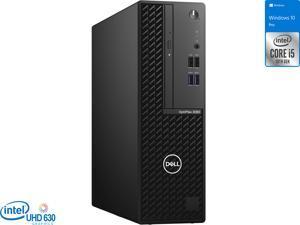 Dell OptiPlex 3080 Desktop, Intel Core i5-10600 Upto 4.8GHz, 8GB RAM, 256GB SSD, DVDRW, HDMI, DisplayPort, Wi-Fi, Bluetooth, Windows 10 Pro