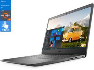 "Dell Inspiron 3000 Notebook, 15.6"" FHD Touch Display, AMD Ryzen 5 3450U Upto 3.5GHz, 16GB RAM, 512GB NVMe SSD, Vega 8, HDMI, Card Reader, Wi-Fi, Bluetooth, Windows 10 Pro S"