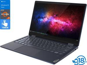 "Lenovo Yoga 6 2-in-1, 13.3"" IPS FHD Touch Display, AMD Ryzen 7 4700U Upto 4.1GHz, 8GB RAM, 512GB NVMe SSD, AMD Radeon Graphics, DisplayPort via USB-C, Wi-Fi, Bluetooth, Windows 10 Home (82FN0001US)"