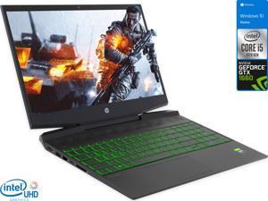 "HP Pavilion 15 Gaming Notebook, 15.6"" IPS FHD Display, Intel Core i5-10300H Upto 4.5GHz, 8GB RAM, 256GB NVMe SSD, GeForce GTX 1650, HDMI, DisplayPort via USB-C, Wi-Fi, BT, Windows 10 Home (2Y3S5UA)"