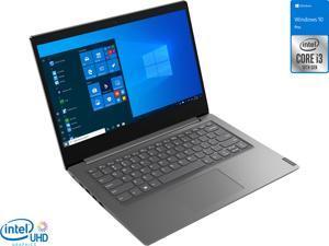 "Lenovo V14 Laptop, 14"" FHD Display, Intel Core i3-1005G1 Upto 3.4GHz, 4GB RAM, 512GB NVMe SSD, HDMI, Card Reader, Wi-Fi, Bluetooth, Windows 10 Pro"