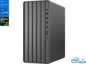 HP ENVY TE01 Gaming Desktop, Intel Core i7-11700 Upto 4.9GHz, 32GB RAM, 512GB NVMe SSD + 2TB HDD, NVIDIA GeForce RTX 3060, HDMI, DisplayPort, Wi-Fi, Bluetooth, Windows 10 Pro