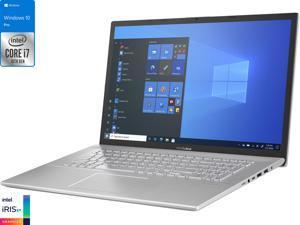 "ASUS Vivobook X712JA Laptop, 17.3"" HD+ Display, Intel Core i7-1065G7 Upto 3.9GHz, 24GB RAM, 1TB NVMe SSD, HDMI, Card Reader, Wi-Fi, Bluetooth, Windows 10 Pro"