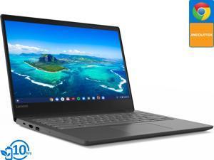 "Lenovo S330 Chromebook, 14"" HD Display, MediaTek MT8173C 2.10GHz, 4GB RAM, 32GB eMMC, HDMI, DisplayPort via USB-C, Card Reader, Wi-Fi, Bluetooth, Chrome OS (81JW0001US)"
