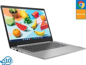 "Lenovo 3 Chromebook, 14"" IPS FHD Display, Mediatek MT8183 2.00GHz, 4GB RAM, 64GB eMMC, DisplayPort via USB-C, Card Reader, Wi-Fi, Bluetooth, Chrome OS (82KN0000US)"
