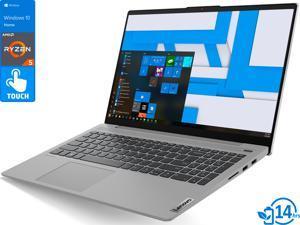 "Lenovo IdeaPad 5 Laptop, 15.6"" IPS FHD Touch Display, AMD Ryzen 5 4500U Upto 4.0GHz, 8GB RAM, 512GB NVMe SSD, Vega 6, HDMI, DisplayPort via USB-C, Wi-Fi, Bluetooth, Windows 10 Home (81YQ0007US)"