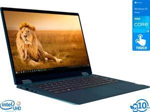 "Lenovo IdeaPad Flex 5 2-in-1, 14"" IPS FHD Touch Display, Intel Core i3-1115G4 Upto 4.1GHz, 8GB RAM, 256GB NVMe SSD, HDMI, Card Reader, Wi-Fi, Bluetooth, Windows 10 Home S (82HS00BVUS)"