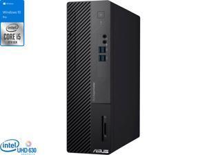 ASUS ExpertCenter D500SA Desktop, Intel Core i5-10400 Upto 4.3GHz, 32GB RAM, 2TB NVMe SSD, DVDRW, HDMI, DisplayPort, VGA, Card Reader, Wi-Fi, Bluetooth, Windows 10 Pro