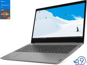 "Lenovo IdeaPad 3 Laptop, 15.6"" FHD Display, AMD Ryzen 3 3250U Upto 3.5GHz, 8GB RAM, 256GB NVMe SSD, Vega 3, HDMI, Card Reader, Wi-Fi, Bluetooth, Windows 10 Pro S"