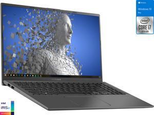 "ASUS Vivobook X512JA Laptop, 15.6"" FHD Display, Intel Core i7-1065G7 Upto 3.9GHz, 12GB RAM, 256GB NVMe SSD + 500GB HDD, HDMI, Card Reader, Wi-Fi, Bluetooth, Windows 10 Pro S"