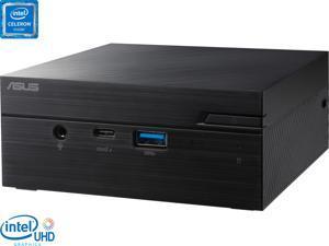 ASUS PN41 Mini PC, Intel Celeron N4500 Upto 2.8GHz, 8GB RAM, 128GB NVMe SSD, HDMI, DisplayPort via USB-C, Wi-Fi, Bluetooth, Windows 10 Pro