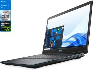 "Dell G3 Gaming Laptop, 15.6"" 120Hz FHD Display, Intel Core i5-10300H Upto 4.5GHz, 16GB RAM, 512GB NVMe SSD, NVIDIA GeForce GTX 1650 Ti, HDMI, DisplayPort via USB-C, Wi-Fi, Bluetooth, Windows 10 Pro"