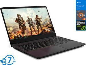"Lenovo IdeaPad 3 Gaming Laptop, 15.6"" 120Hz FHD Display, AMD Ryzen 5 5600H Upto 4.2GHz, 8GB RAM, 512GB NVMe SSD, NVIDIA GeForce RTX 3050, HDMI, Wi-Fi, Bluetooth, Windows 10 Home (82K20013US)"