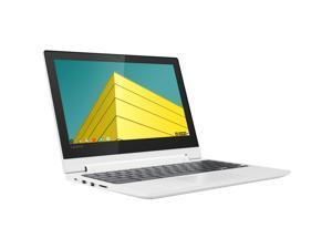 "Lenovo C330 Chromebook, 11.6"" IPS HD Touch Display, MediaTek MT8173C 2.10GHz, 4GB RAM, 64GB eMMC, HDMI, DisplayPort via USB-C, Card Reader, Wi-Fi, Bluetooth, Chrome OS (81HY0000US)"