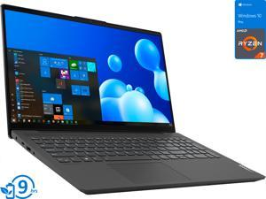 "Lenovo IdeaPad 5 Notebook, 15.6"" FHD Display, AMD Ryzen 7 4700U Upto 4.1GHz, 16GB RAM, 512GB NVMe SSD, Vega 6, HDMI, DisplayPort via USB-C, Card Reader, Wi-Fi, Bluetooth, Windows 10 Pro"
