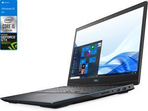 "Dell G3 Gaming Laptop, 15.6"" 120Hz FHD Display, Intel Core i5-10300H Upto 4.5GHz, 16GB RAM, 256GB NVMe SSD, NVIDIA GeForce GTX 1650 Ti, HDMI, DisplayPort via USB-C, Wi-Fi, Bluetooth, Windows 10 Pro"