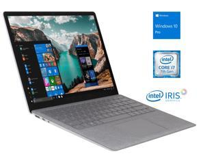 "Microsoft Surface Notebook, 13.5"" FHD Touchscreen, Intel Dual-Core i7-7660U Upto 4.0GHz, 8GB RAM, 256GB SSD, Mini DisplayPort, Backlit Keyboard, Wi-Fi, Bluetooth, Windows 10 Pro"