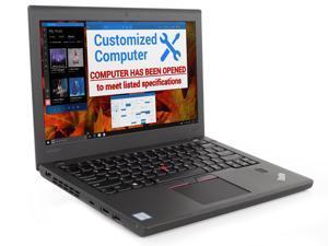 "Lenovo ThinkPad X270 Notebook, 12.5"" IPS HD Display, Intel Dual-Core i7-6600U Upto 3.4GHz, 16GB RAM, 512GB SSD, HDMI, Card Reader, Backlit Keyboard, Wi-Fi, Bluetooth, Windows 10 Pro"