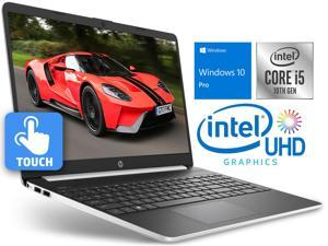 "HP 15 Notebook, 15.6"" HD Touch Display, Intel Core i5-1035G4 Upto 3.70GHz, 16GB RAM, 512GB SSD, HDMI, Card Reader, Wi-Fi, Bluetooth, Windows 10 Pro"