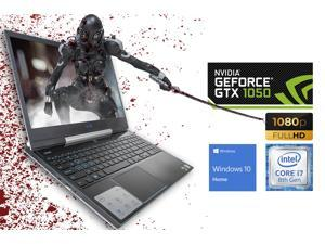 "Dell G5 Gaming Notebook, 15.6"" FHD Display, Intel Core i7-8750H Upto 4.1GHz, 16GB RAM, 256GB NVMe SSD + 1TB HDD, NVIDIA GeForce GTX 1050 Ti, HDMI, DisplayPort via USB-C, Wi-Fi, BT, Windows 10 Home (G5"
