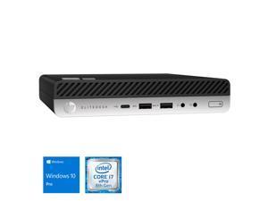 HP EliteDesk 800 G4 Mini PC, Intel Core i7-8700T Upto 4.0GHz, 16GB RAM, 512GB NVMe SSD, DisplayPort, VGA, Wi-Fi, Bluetooth, Windows 10 Pro