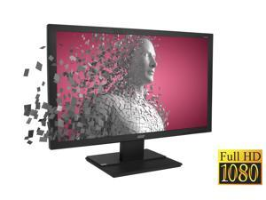 "Acer Display V246HQL, 24"" (23.6"" Viewable Size) 60Hz 1920 x 1080 - FHD 16:9, 3K:1 - Contrast, 5MS GTG - Response, 1x VGA, 1x DVI, W/ Tilt Adjustment, BLACK"