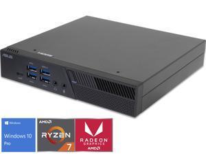 ASUS PB50 Mini PC, AMD Ryzen 7 3750H Upto 4.0GHz, 16GB RAM, 512GB NVMe SSD + 1TB HDD, HDMI, DisplayPort, Wi-Fi, Bluetooth, Windows 10 Pro
