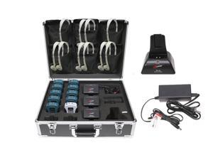 Califone 10 Person Wired Assistive Listening System WS-AL10