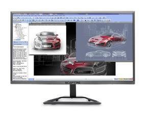 "Sceptre E248W-1920R 24"" 5ms (GTG) 1080P Ultra Slim Monitor, 1920 x 1080, 16:9, 5000:1, 230 cd/m2, HDMI, VGA, Tilt Adjustable, VESA Mountable, US Warranty"
