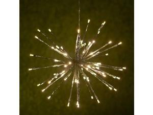 """Fuji Labs 120 LED Starburst 50cm (19.7"""") IP44 Water-Resistant Outdoor AC Powered Light Decoration"""