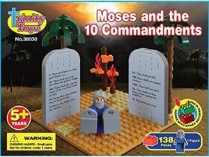 Moses and the Ten Commandments 138 piece block set by Trinity Toyz