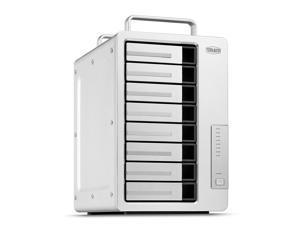 TerraMaster D8 Thunderbolt 3 (D8-331) Professional-Grade 8-Bay Thunderbolt3 Hardware RAID Enclosure Support RAID 0/1/5/6/10/50 External Hard Drive RAID Storage (Diskless)