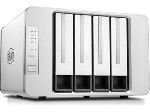 TerraMaster F4-422 10GbE NAS 4-Bay Network Storage Server Intel Quad-core CPU with Hardware Encryption (Diskless)