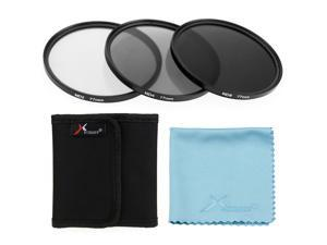 XCSOURCE® XCSource 3pcs 77mm ND2 ND4 ND8 Neutral Density Filter for Camera Canon ...