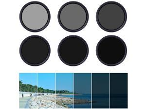XCSOURCE® 58mm Variable ND Filter Neutral Density Adjustable for Canon ...