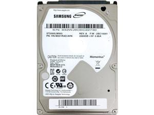 "Seagate Samsung Spinpoint M9T ST2000LM003 2TB 5400 RPM 32MB Cache SATA 6.0Gb/s 2.5"" Internal Notebook Hard Drive Bare Drive"