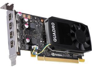 PNY nVIDIA Quadro P1000 VCQP1000 4GB GDDR5 PCI-E 3.0 x16 4 Mini DP 900-5G212-1751-000