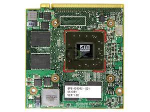 ATI FireGL V5725 256MB Mobile Laptop Video Card HP 8730w 493982-001 216-0683010