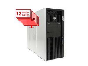 Multi Monitor HP Z820 Computer 2x Intel Xeon E5-2640 2.50GHZ 12-Core / 16GB RAM / 1TB HDD / Nvidia NVS 510 / Win10/ 12 Monitor support Workstation