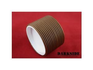 """Darkside 4mm (5/32"""") High Density Cable Sleeving - Arabica Brown (DS-0087)"""