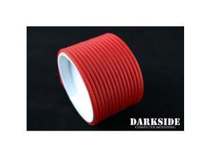 """Darkside 4mm (5/32"""") High Density Cable Sleeving - Green UV (DS-HD4-GRN)"""