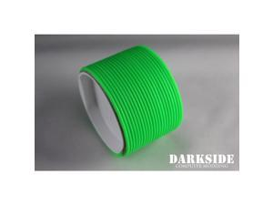"""Darkside 2mm (5/64"""") High Density Cable Sleeving - Green UV (DS-HD2-GRN)"""