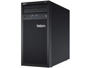 Lenovo ThinkSystem ST50 Tower Server, Intel Xeon 3.4GHz CPU, 64GB DDR4 2666MHz RAM, 12TB HDD Storage, JBOD RAID, Windows Server 2019