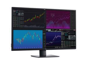 Dell U4320Q UltraSharp 43 Inch 4K UHD (3840 x 2160) LED Backlit USB-C Monitor with DisplayPort and HDMI