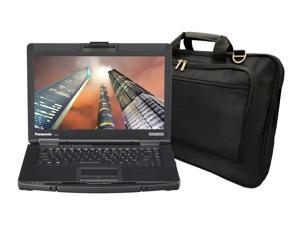 Panasonic Toughbook CF-54 Laptop PC Bundle with Laptop Bag, Intel Core i5-7300U 2.6GHz, 8GB RAM, 500GB SSD, Windows 10 Pro